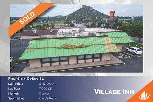 Village Inn Sale Information